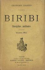 RARISSIME EO 1890 + GEORGES DARIEN : BIRIBI, DISCIPLINE MILITAIRE