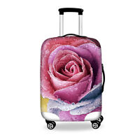 Rose Elastic Travel Suit Case Luggage Cover Protector Anti Scratch 22 24 26 28