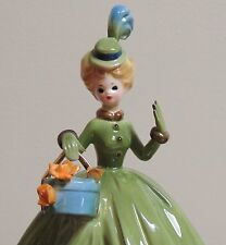 "Sweet Sixteen Josef Originals Figurine New Hat Black Eyes 7.5"""