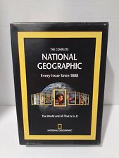 National Geographic Magazine 6 DVD Roms Set Complete 1888 to 2008