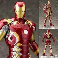 Iron Man MK43 Figure PVC Action Figure Marvel Avengers Kid Gift Toy Crazy Statue