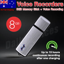 8GB USB Digital Sound Voice Recorder Audio Record Pen Dictaphone Memory Stick SG