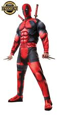 FREE SHIPPING new Rubie's Men's Marvel Deadpool standrd size Halloween Costume