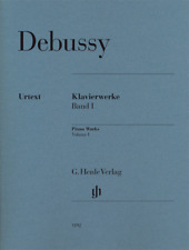Henle Urtext Debussy Piano Works Vol 1
