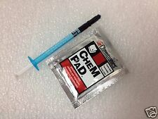 NEW SHIN-ETSU MICROSI SILICONE THERMAL COMPOUND+CHEM PAD PRESATURATED WIPE (01)