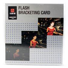MINOLTA Chip Karte FLASH BRACKETING CARD für DYNAX 700si 7000i 8000i 7xi 9xi