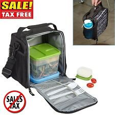 Lunch Bag For Men Women Adult Meal Management Insulated Fitness Box Work Picnic
