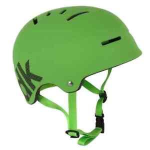 New DK Synth BMX Bicycle Helmet GREEN Large L Skate Park Bike