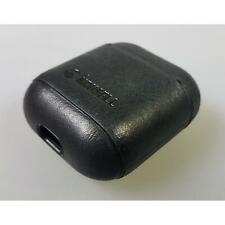 Krusell Sunne Airpod Case Schwarz Echtleder Vintage Black