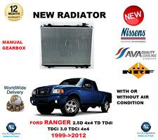 PARA FORD RANGER 2.5D 4X4 TDdi 3.0 TDCi 4X4 1999-2012 RADIADOR CALIDAD OE