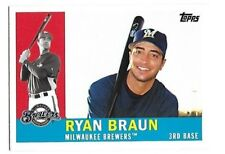2008 Topps Trading Card History Ryan Braun