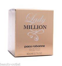 Paco Rabanne LADY MILLION EDP 80ml 2.7oz Eau de Parfum Perfume NEW Women 2.7 oz