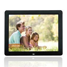 "Wonderful 15"" Black Digital Frame Photos LED HD Screen 1080*800 MP3 MP4 Player"
