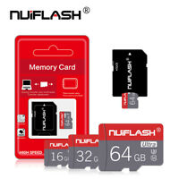 NUIFLASH 4-64GB Ultra Micro SD HC Class 10 TF Flash SDHC Memory Card Mobile