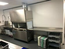 More details for hobart commercial auto feed dishwasher catering ecomax 802-a sink ourtlet table