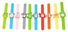 Childrens Kids Snap Band On Wrist Watch Sea Life Shark Turtle Dolphin Star Fish