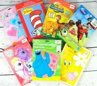 NEW Old Stock Early 2000's Valentine's Day Cards Lot 7 - Disney, Nick Jr, Tweety