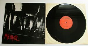 "Menace - Screwed Up UK 1977 Illegal Records 12"" Single"