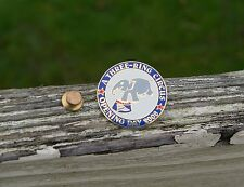 A Three-Ring Circus Opening Day 2008 Elephant Gold Tone Metal Enamel Pin Pinback