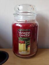 YANKEE Candle BOLLICINE MELOGRANO GRANDE Giara. USA Esclusivo