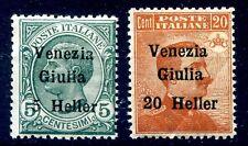 VENEZIA GIULIA 1919 - SERIE   NUOVA   **