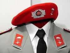East German DDR Paratrooper Officer Dress / Walking Out Uniform and Beret