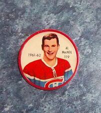 Shirriff / Salada coins hockey 1961-62 # 119 Al MacNeil Montreal Canadians  M4A