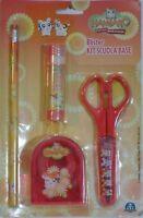 HAMTARO stationary con matita, forbice, colla e scotch GIOCHI PREZIOSI