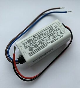 Mean Well APV-8-12 8W 12V Constant Voltage LED Driver