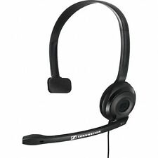 Sennheiser PC 2 CHAT Headsets Internet Calls Single Sided Noise Cancelling