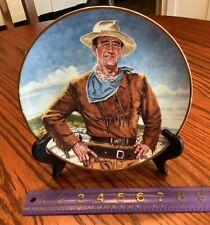 John Wayne Plate - The Duke -Robert Tanenbaum - Franklin Mint