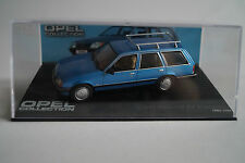 Modello di auto 1:43 OPEL Collection OPEL REKORD e2 Caravan 1982-1986 n. 46