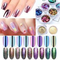 Chameleon Nail Glitter Powder Holographic Mirror Magnetic DIY Tips Decoration