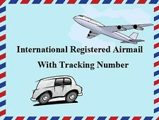 REGISTERED AIR MAIL SERVICE WITH ONLINE TRACKING NUMBER (ADDITIONAL)