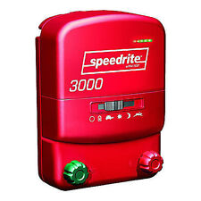 Speedrite 3000 Dual Powered Electric Fence Charger 30 Mile/120 Acre+ Free Tester