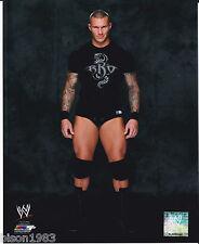 Randy Orton Brand New RKO shirt WWE 8x10 photo Posed Studio