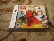 LEGO Battles: Ninjago  (Nintendo DS, 2011) new