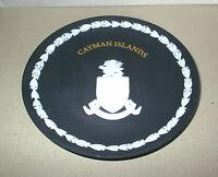 Wedgwood Jasperware Black Cayman Islands Plate