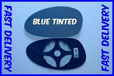 TO FIT BMW M3 E46 COUPE 2001-2006 DOOR MIRROR GLASS CONVEX BLUE TINTED LEFT SIDE