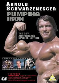 Pumping Iron DVD Arnold Schwarzenegger BODYBUILDING 1977 DOCUMENTARY - REGION 1