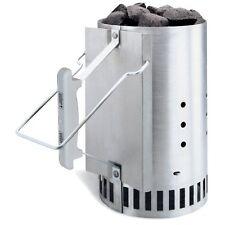 Weber aluminized STEEL Chimney STARTER sistema LUCI ANTRACITE rapidamente e uniformemente