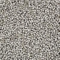 Preciosa Czech glass Charlotte Beads 15//0 N16//2 Crystal Labrador 5 g 1.25 mm