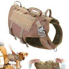 Táctica Molle K9 arnés del perro Grande adiestramiento de perros Chaleco Táctico De Servicio Para Boxer