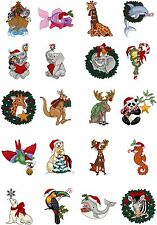 OESD Embroidery Machine Designs CD STEPHANIE'S CHRISTMAS