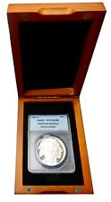 2001-P Proof American Silver Buffalo ANACS PR70DCAM with Display Box - brp