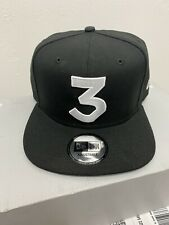 Chance The Rapper 3 New Era Cap Snapback Hat (Black) 100% Authentic