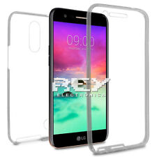 Funda Doble Silicona LG K10 (2017) Protector Transparente TPU s934