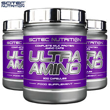 ULTRA AMINO ACIDS - Anabolic BCAA Whey Protein - Muscle Growth Energy & Recovery
