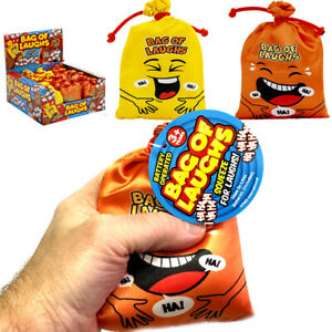 BAG OF LAUGHS NOISE NOVELTY GADGET TOY GIFT PARTY BAG CHRISTMAS STOCKING FILLERS