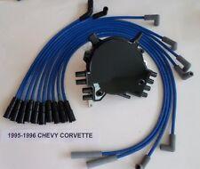 CHEVY CORVETTE 1995-1996 LT1 5.7L OPTISPARK Distributor & BLUE Spark Plug Wires